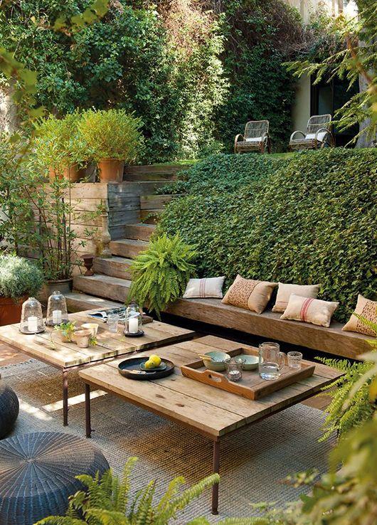 Et si on installait un salon dans le jardin ? - Floriane Lemarié
