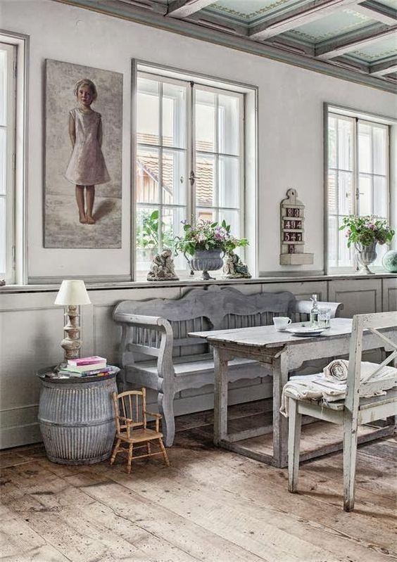 27d0d029fc113 Un banc dans la salle à manger - Floriane Lemarié