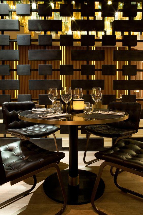 deco noir et or. Black Bedroom Furniture Sets. Home Design Ideas