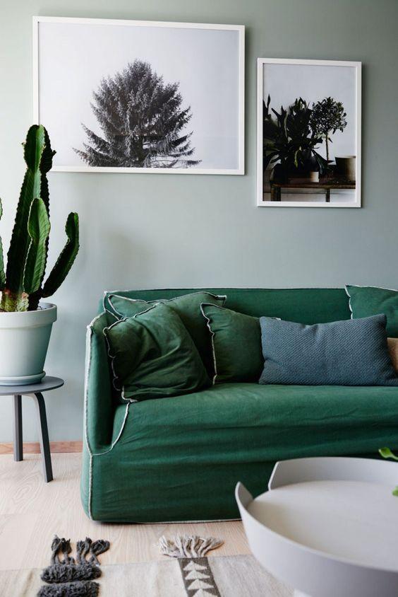 osez le vert meraude dans votre int rieur floriane lemari. Black Bedroom Furniture Sets. Home Design Ideas