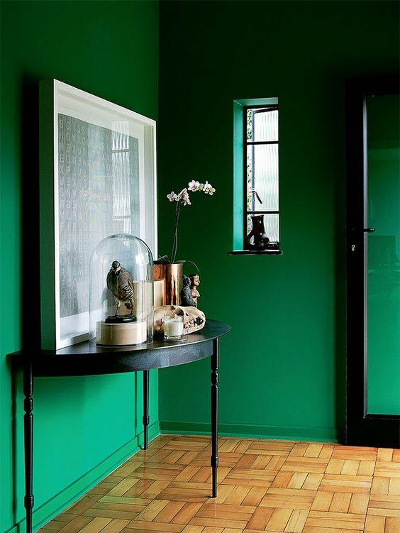 Osez le vert meraude dans votre int rieur floriane - Vert emeraude peinture ...