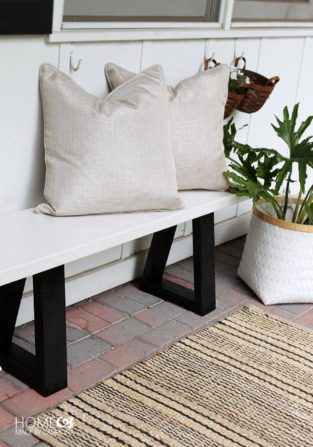 7987211395310 DIY   fabriquer un banc de jardin design en bois - Floriane Lemarié