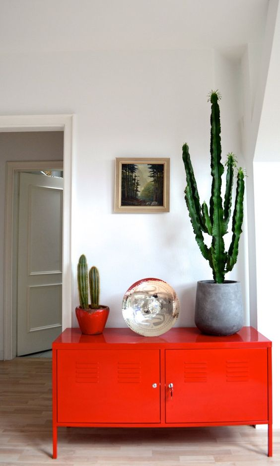 Décoration orange