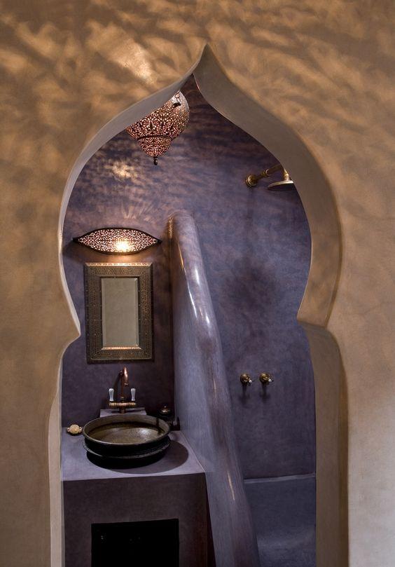 Des salles de bain au style oriental version pur e for Salle de bain style hammam