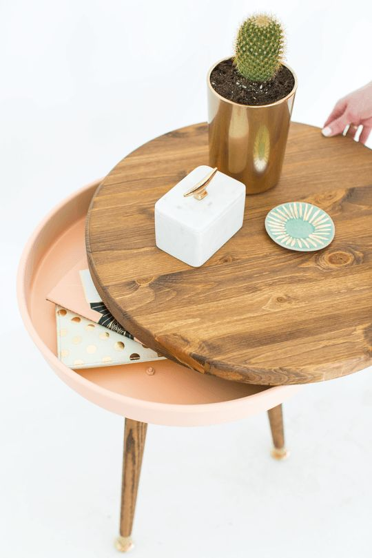 Décoration DIY table d'appoint
