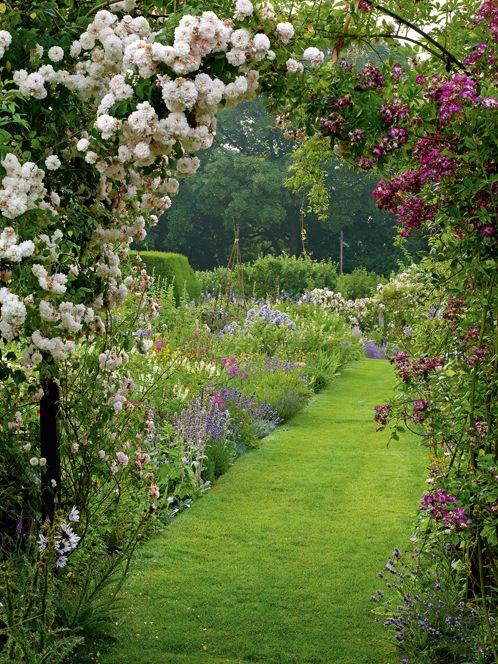 Décoration jardin anglais