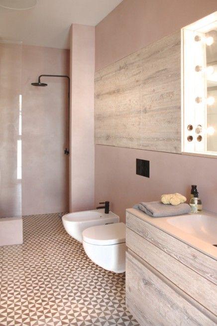Rose poudré : la salle de bain se refait une beauté ...