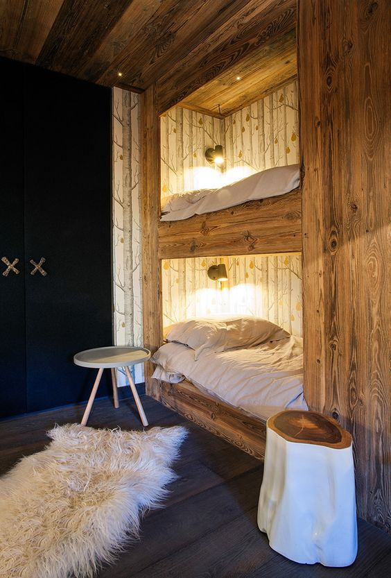 ambiance chalet de montagne floriane lemari. Black Bedroom Furniture Sets. Home Design Ideas