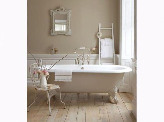 Des salles de bain romantiques - Floriane Lemarié