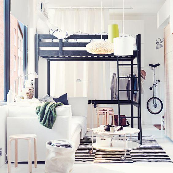 d corer un studio tudiant floriane lemari. Black Bedroom Furniture Sets. Home Design Ideas