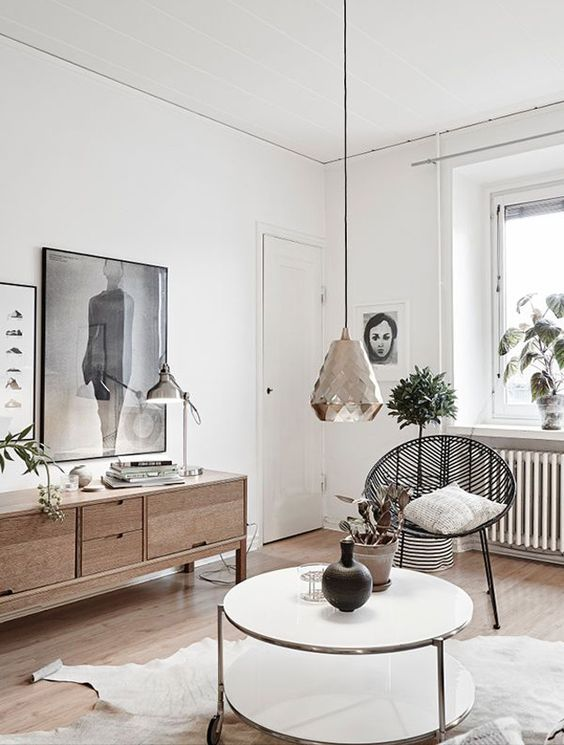 D coration scandinave floriane lemari - Decoration appartement scandinave ...