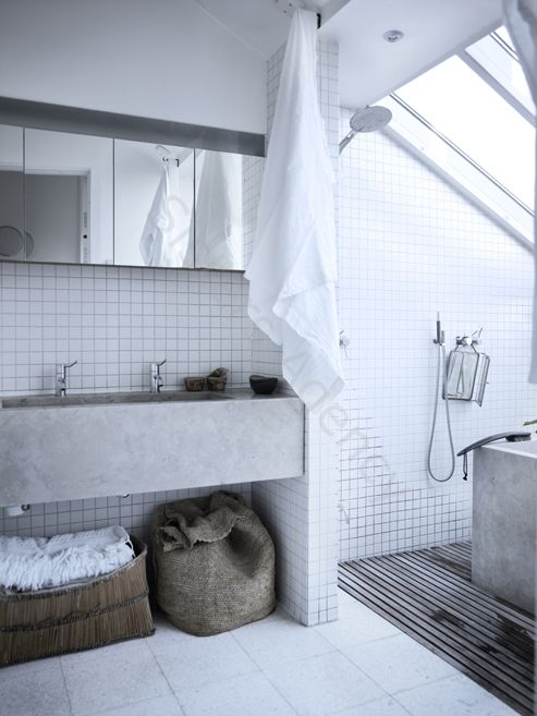 des salles de bain pour deux floriane lemari. Black Bedroom Furniture Sets. Home Design Ideas