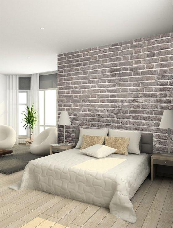 Diy Creer Un Mur De Briques Avec Du Papier Peint Floriane Lemarie