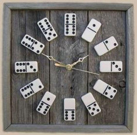 Décoration horloge DIY