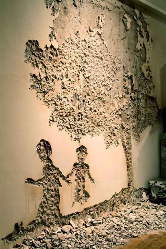 Du relief sur les murs floriane lemari - Decoration sur les murs ...