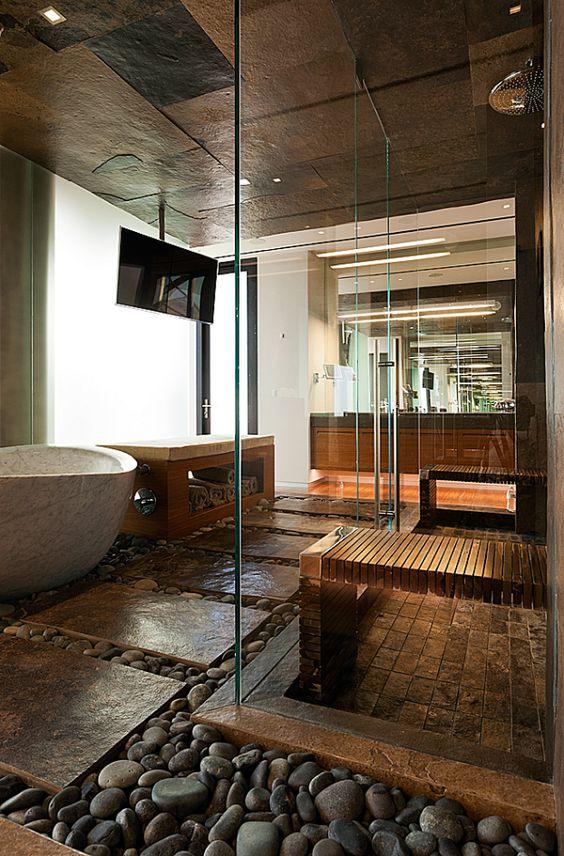 Décoration salle de bain de luxe