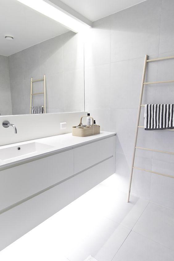 Des salles de bain minimalistes - Floriane Lemarié