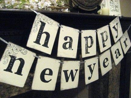 Décoration DIY nouvel an