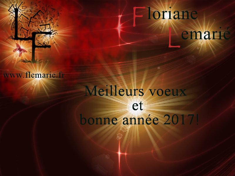 Bonne année 2017 Floriane Lemarié