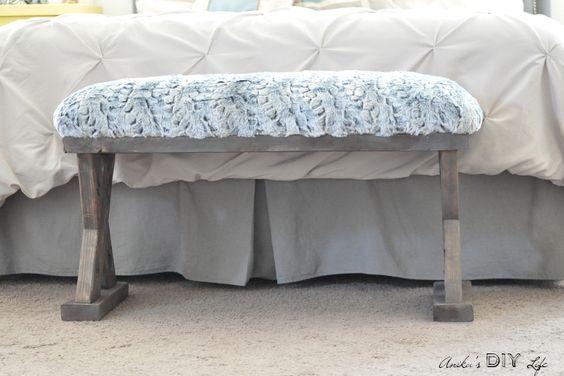 Décoration bout de lit DIY