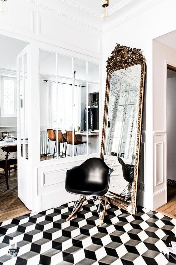 Décoration miroir