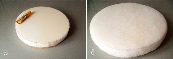 Décoration tabouret DIY