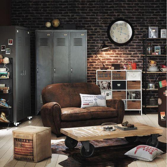 Décoration industrielle et vintage