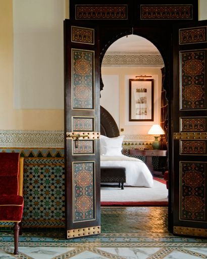 Décoration chambre Maroc