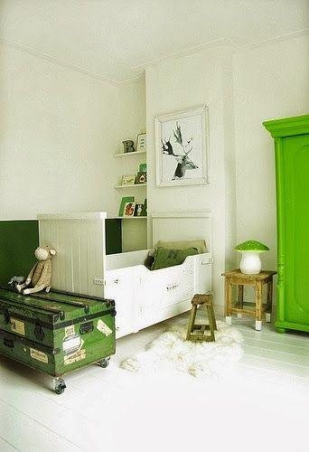 Décoration vert