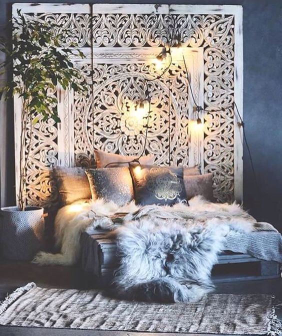 A Guide To Using Pinterest For Home Decor Ideas: Des Chambres « Bohème »