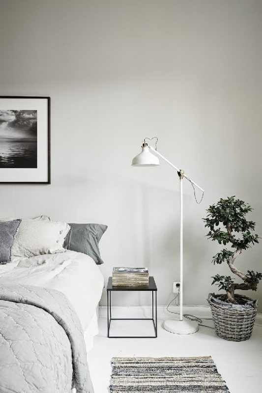 la chambre dans un style scandinave floriane lemari. Black Bedroom Furniture Sets. Home Design Ideas