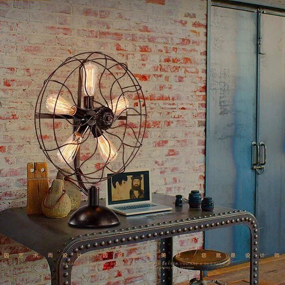 Décoration industrielle vintage
