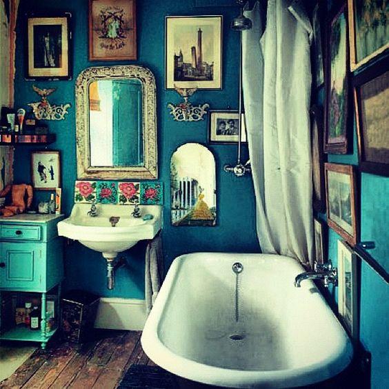 Le style boh mien dans la salle de bain floriane lemari - Camera da letto boho chic ...
