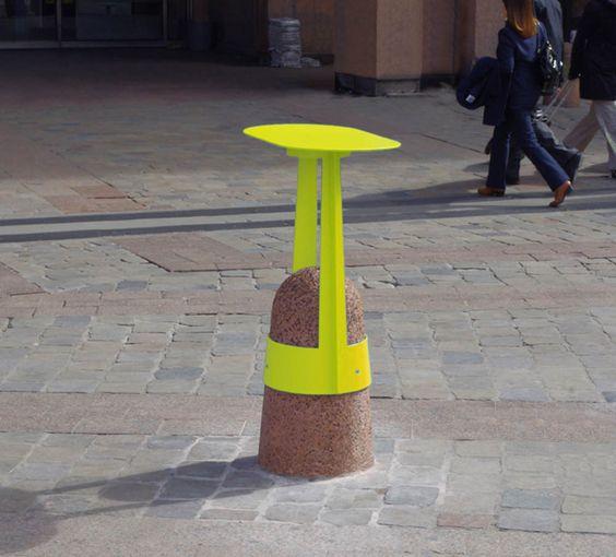 Design mobilier urbain