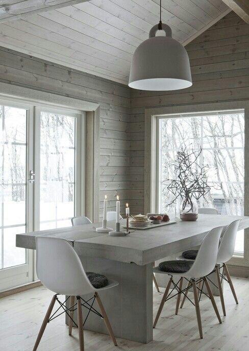 Décoration blanc bois