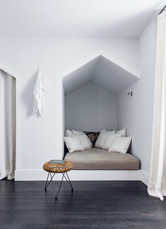 Chambre deco blanche - Decoration chambre blanche ...