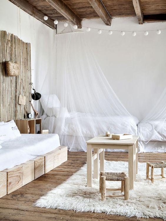 Décoration chambre blanche