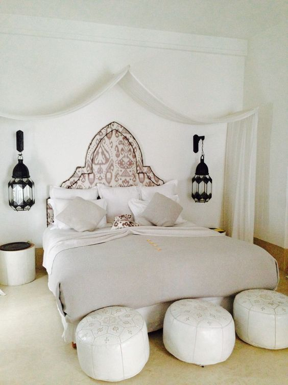 des chambres dans le style marocain floriane lemari. Black Bedroom Furniture Sets. Home Design Ideas
