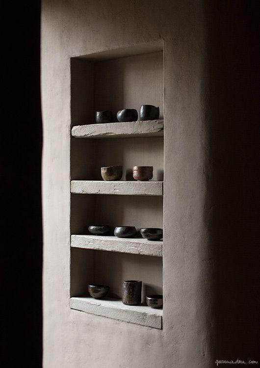 Décoration étagères niches