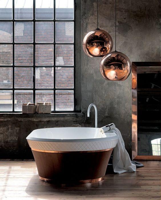 dcoration salle de bain cuivre - Salle De Bain Cuivre