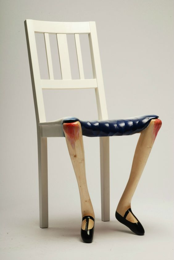 Des Chaises Au Design Anthropomorphe Floriane Lemari 233