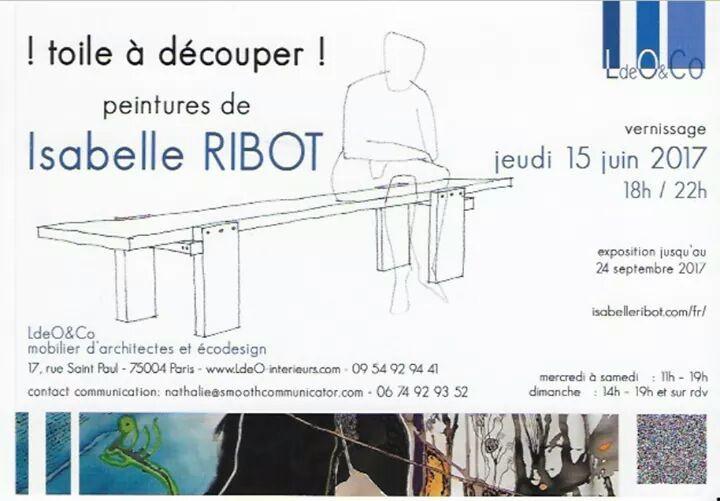 Toile à découper Isabelle Ribot