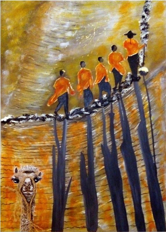 Peinture Floriane Lemarié