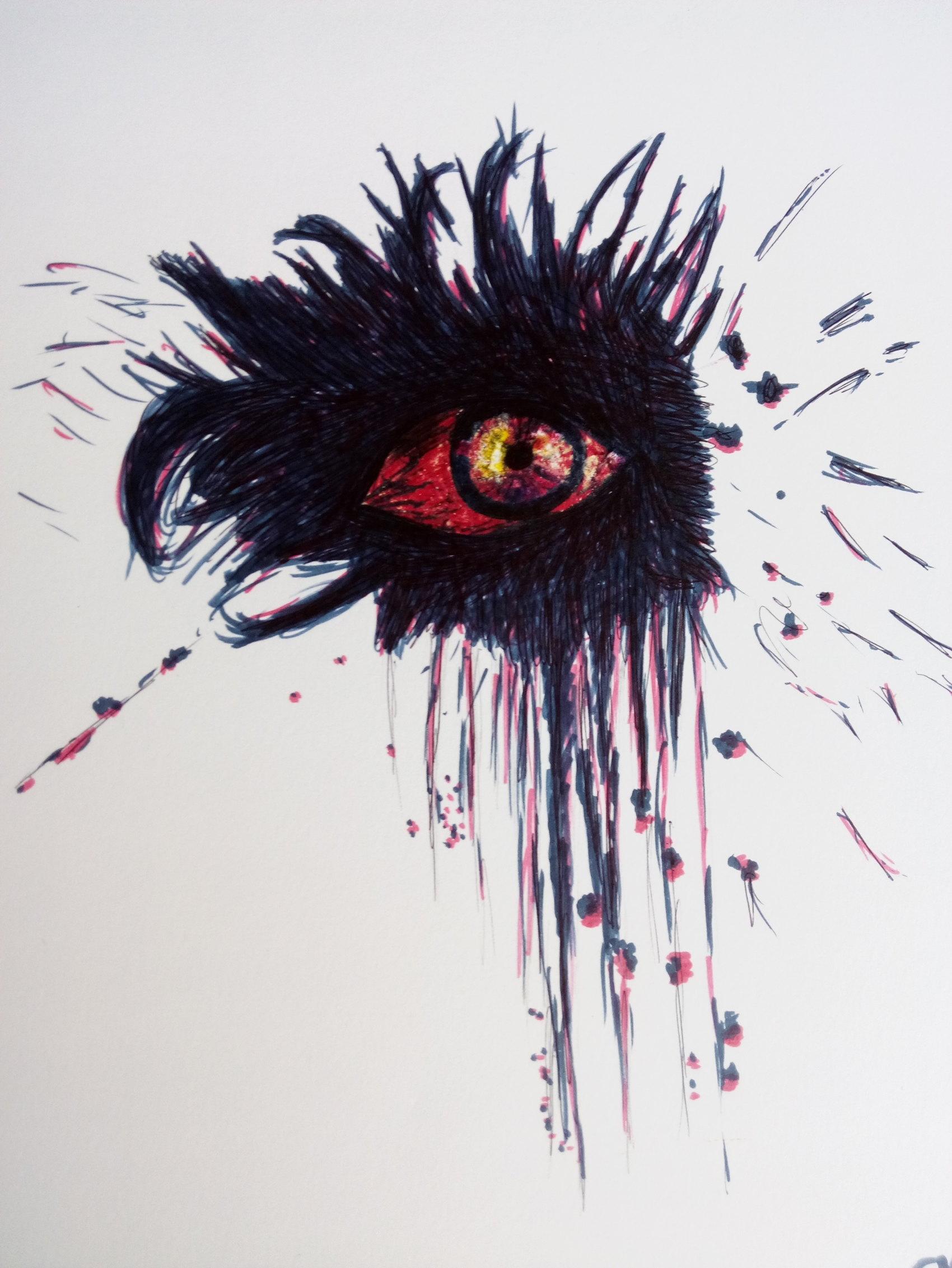 Oeil de Sauron  Stylo bille