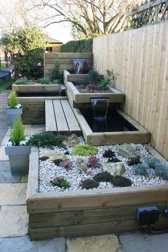 am nager et d corer un petit jardin floriane lemari. Black Bedroom Furniture Sets. Home Design Ideas