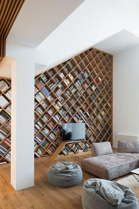 Décoration bibliothèque